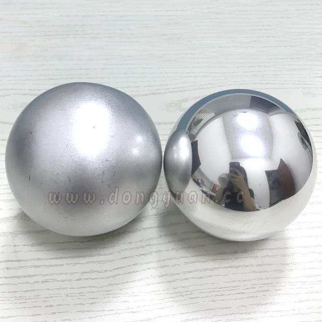 Metal Craft Polished Aluminum Sphere