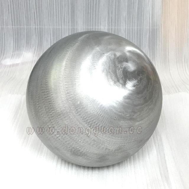 100mm AluminumHalf Ball Fabrication / Metal Aluminum Decoration Sphere in Stock