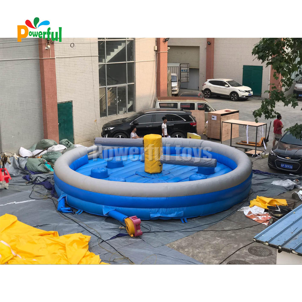 7m blue eliminator inflatable mechanical meltdown machine wipeout for wipeout sweeper game