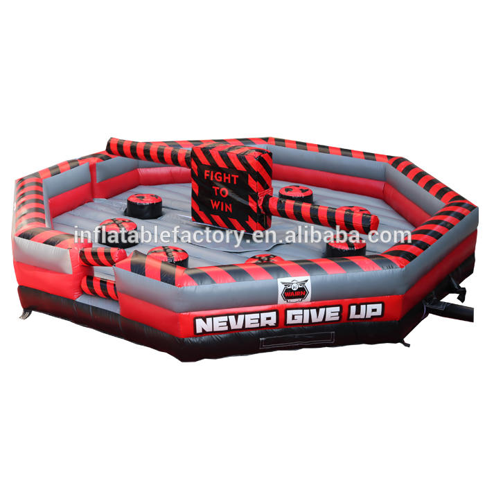 inflatable gladiator, meltdown sport game, Inflatable Sweeper Game