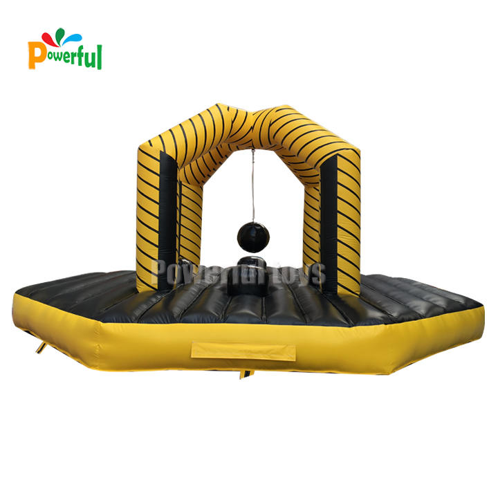 Guangzhou factory inflatable wrecking balldodgeball sport games