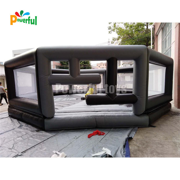 Hot Sale Inflatable Wipeout/Inflatable Sweeper Game/inflatable meltdown wipeout