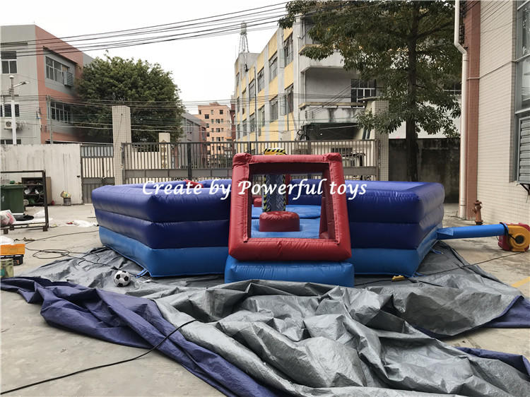 Total eliminator inflatable meltdown wipeout mechanical for sport games