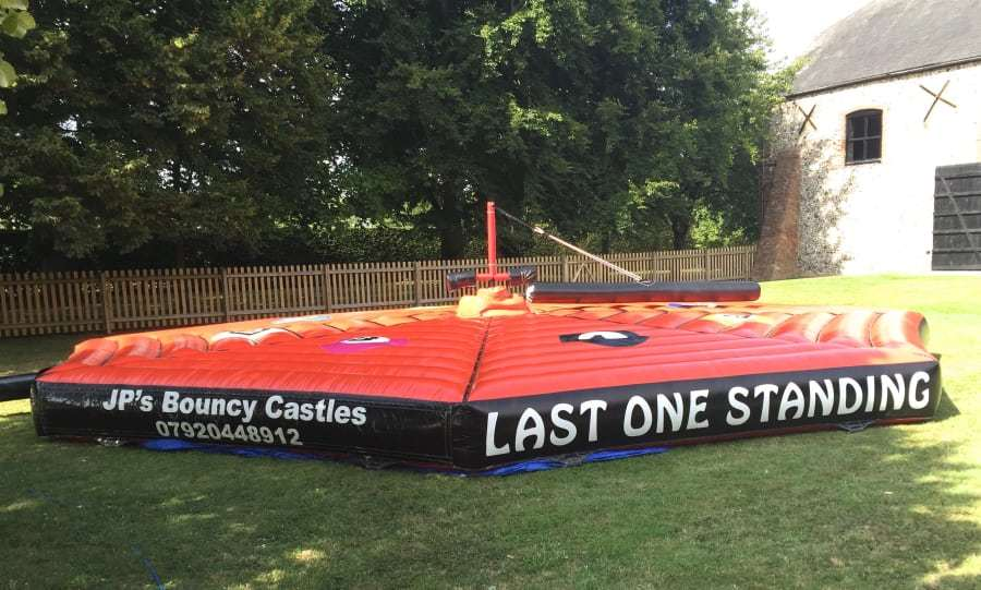 wipeout inflatable obstacle course for trampoline park