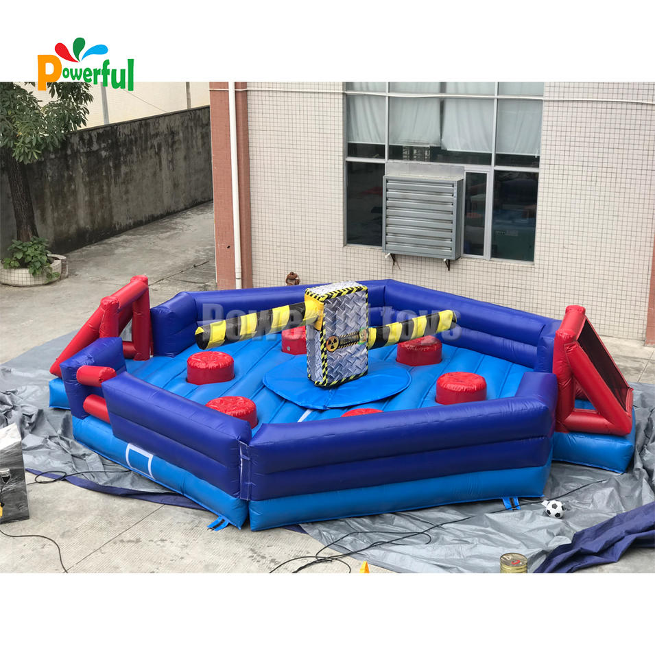 Last Man Standing inflatable wipeout course for sale
