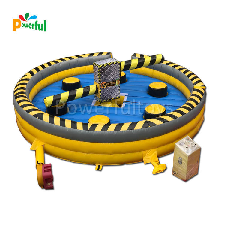 inflatable wipeout/inflatable wipeout machine for trampoline park