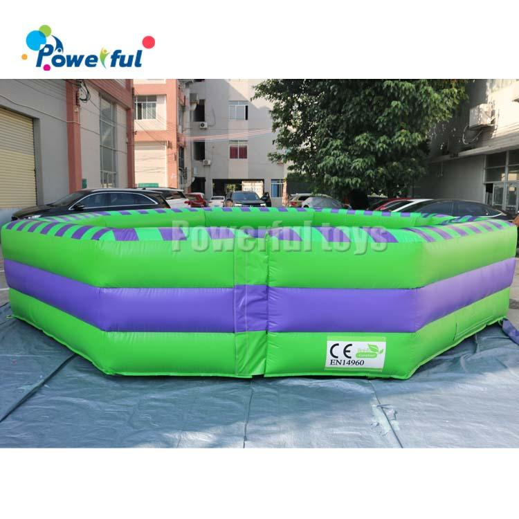 8 Person last man standingInflatable Wipeout Game Total Wipeout Trampoline Jump