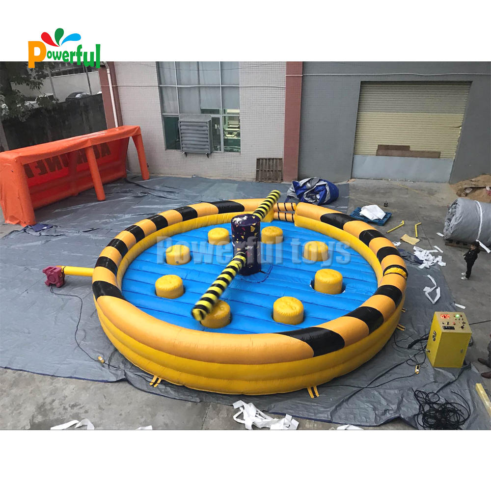inflatable sweeper game for 8 player Toxic Meltdown for sale