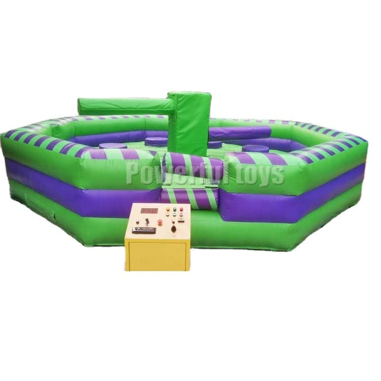 Inflatable game 6m diameter size wipeout eliminator