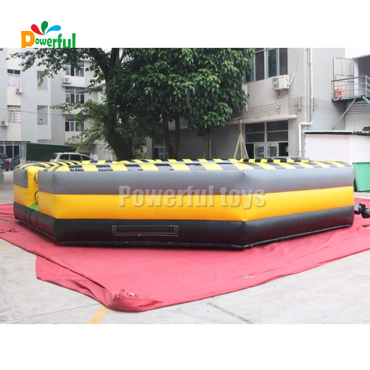 Hot sale inflatable wipe out sport game inflatable meltdown game