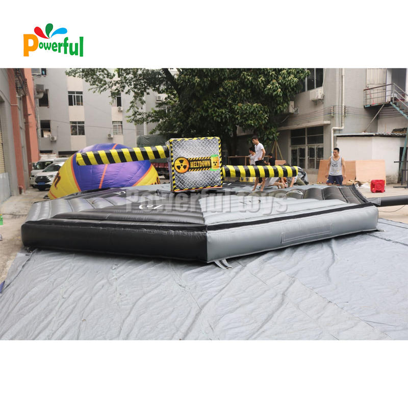 inflatable bounce Sweeper wipeout Meltdown Interactive Games for trampoline park