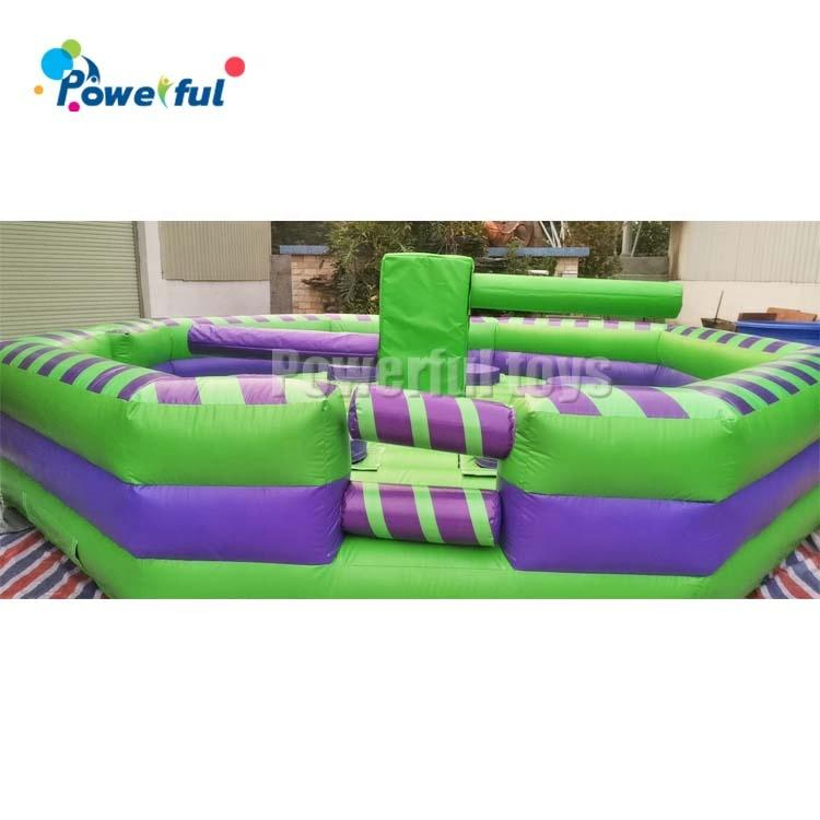 Inflatable wipeout eliminator mechanical rodeo game inflatable last man standing