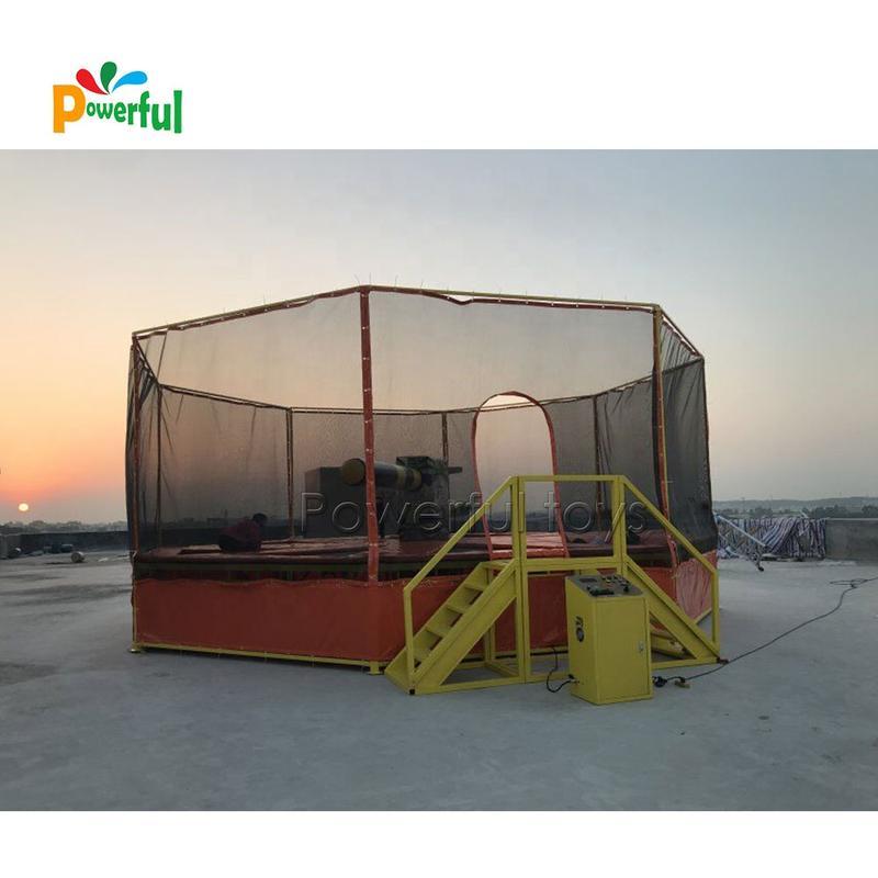 Factory price indoor trampoline park game inflatable meltdown machine