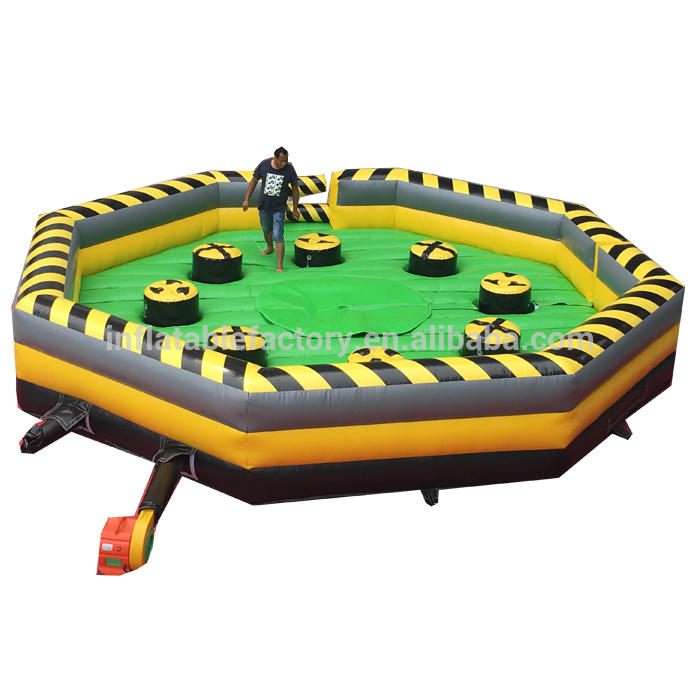 inflatable wipe out mechanical sweeper