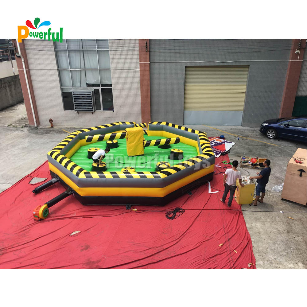 Outdoor Interactive Inflatable Meltdown Challenge Games inflatable interactive game