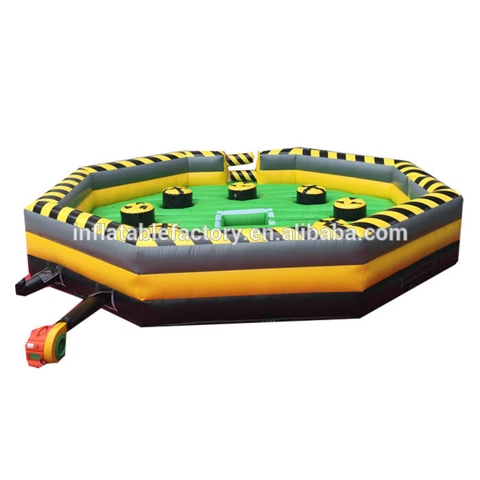 Inflatable Meltdown Challengegame sweeper wipeout