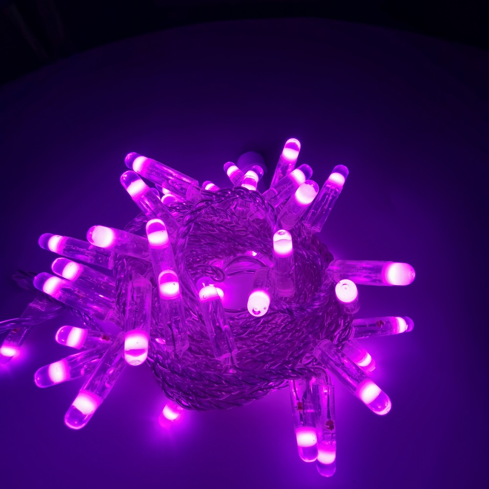 Energy saving outdoor waterproof ip65 3w 6w pvc christams decoration led string light