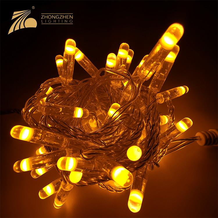 Factory Customization PVC 120 Luminous Angle LED Commercial Grade String Light