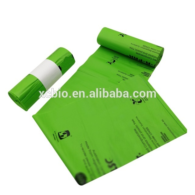 100% Biodegradable bags Eco-friendly garbage bags can be customized