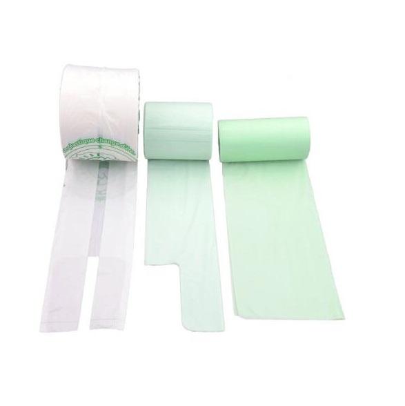 biodegradable plastic packaging t-shirt bags