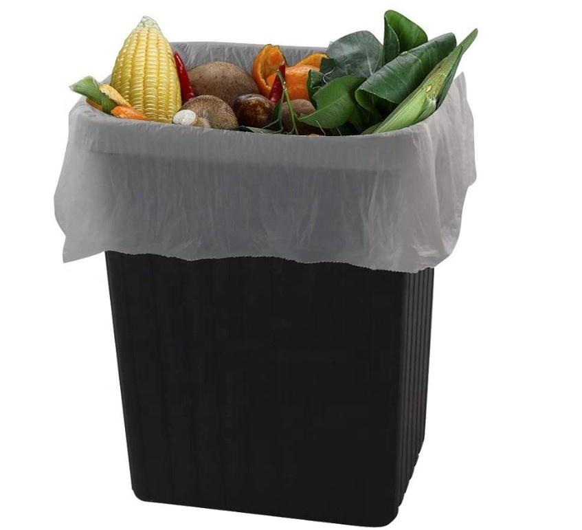 Disposable PLA Wholesale Trash Rubbish Bag Biodegradable Garbage Bags