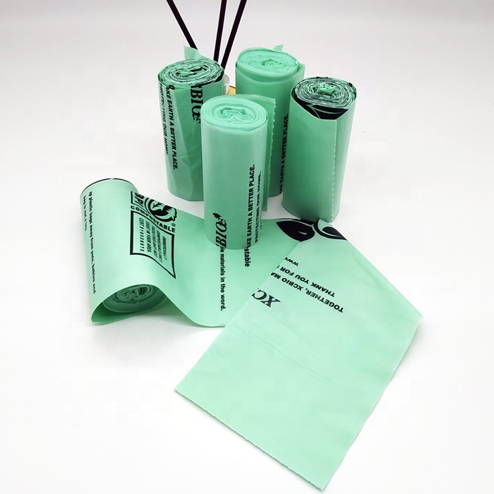 astm d6400 biodegradable garbage bags compostable bags