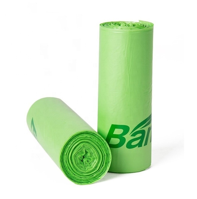 100% Biodegradable Environmentally Friendly TrashCompostable Garbage Bags