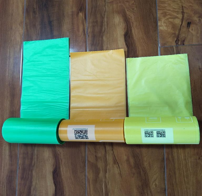 100% Biodegradable Cornstarch Trash Bags Compostable Garbage Bags Eco Friendly