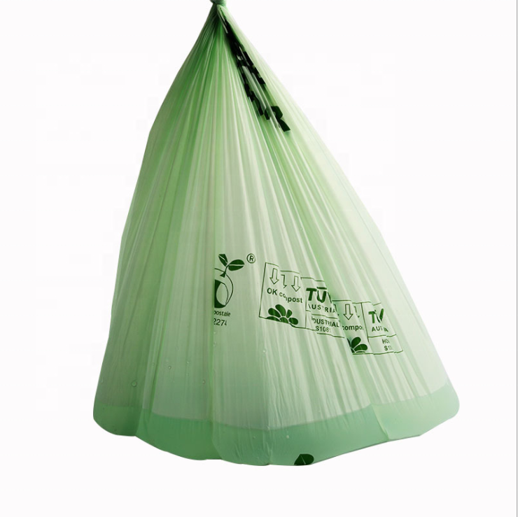 Compostable Sustainable Eco Friendly Products Food Waste Bin Liners Eco Friendly Trash Bags