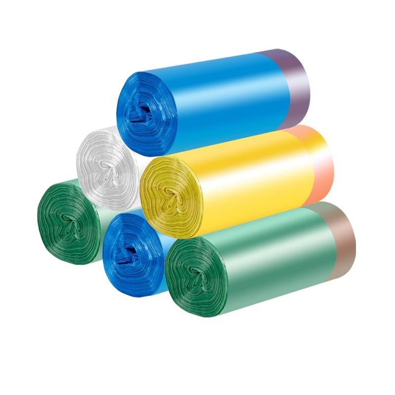 cornstarch based wholesale custom logo pritnted biodegradable plastic drawstring bag