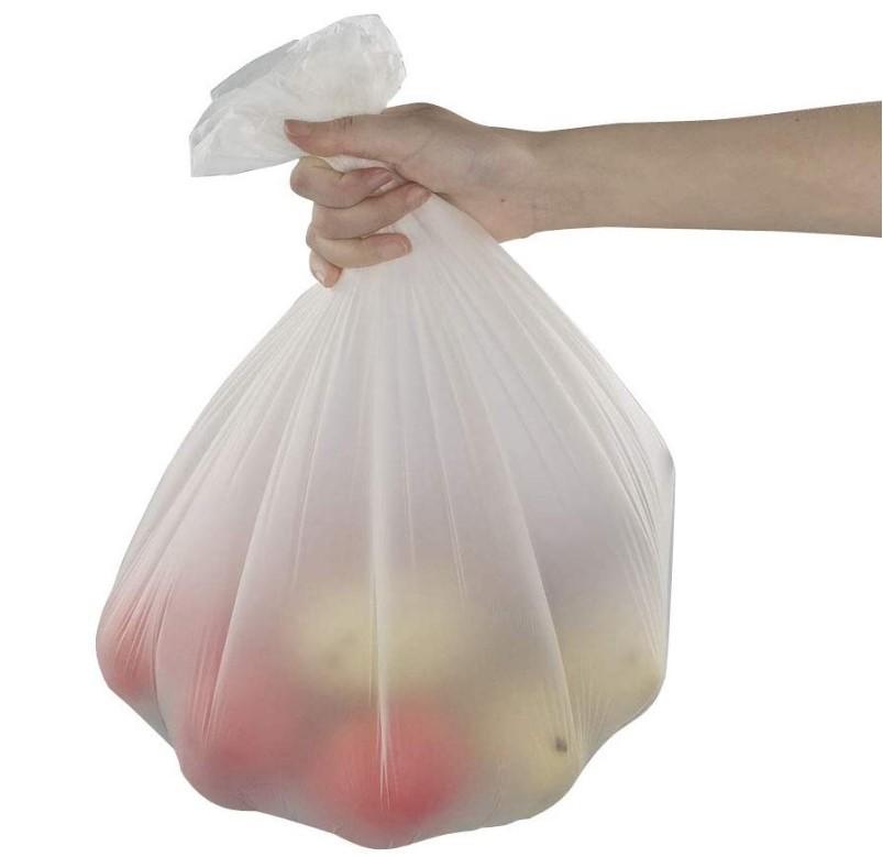 100% Compost, 3 Gallon Food Scrap Bags on roll plaTrash Bags