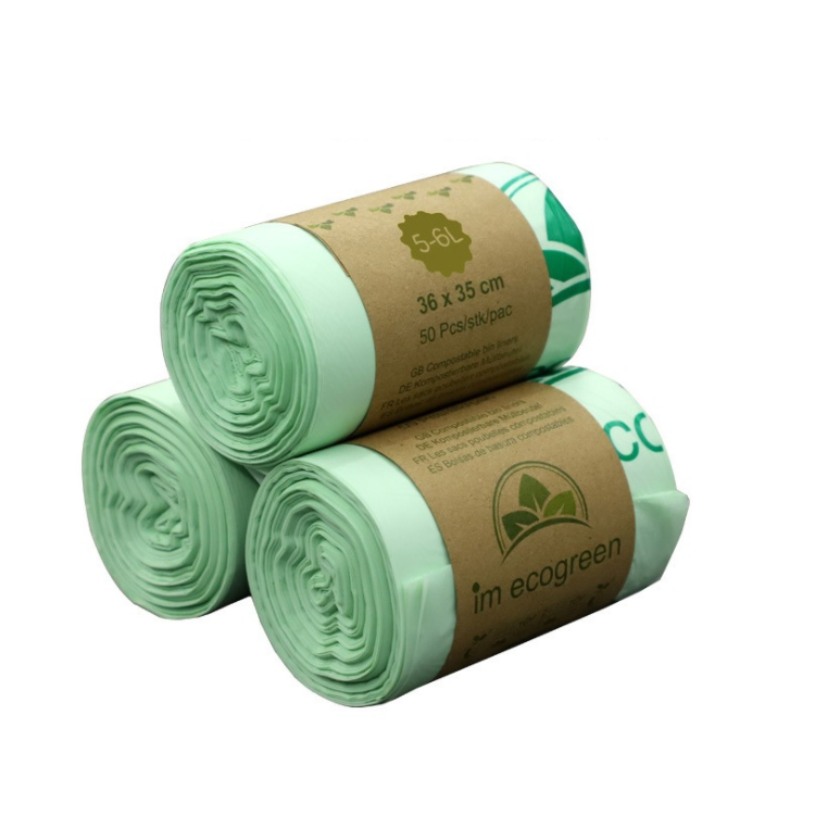 Compostable Kitchen Caddy Liners Food Waste Bin Liners Biodegradable Trash Bags