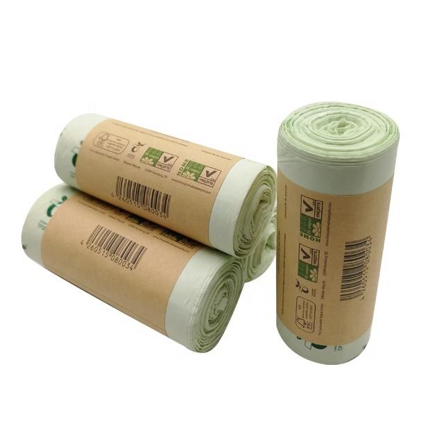 Compostable Plastic Garbage Bags 100% Biodegradable PLA Trash Bag