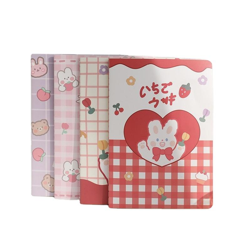 Cartoon Cute Teenager Note Books Luxury Lined Journal Notebook Kraft Hardcover Journals And Notebooks