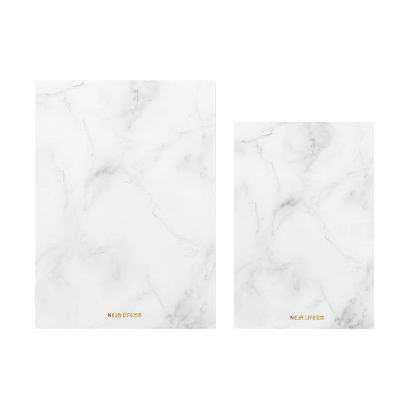 product-Dezheng-A5 Custom Notebooks Writing Pads Marble Designed Fashion Sewing Books Stationery No-1