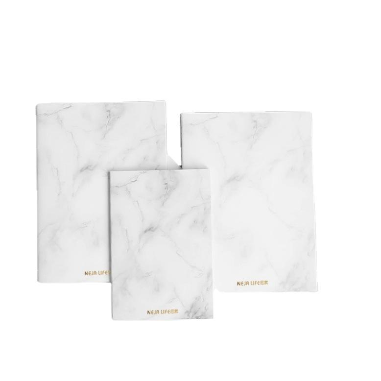 A5 Custom Notebooks & Writing Pads Marble Designed Fashion Sewing Books Stationery Notebook For School