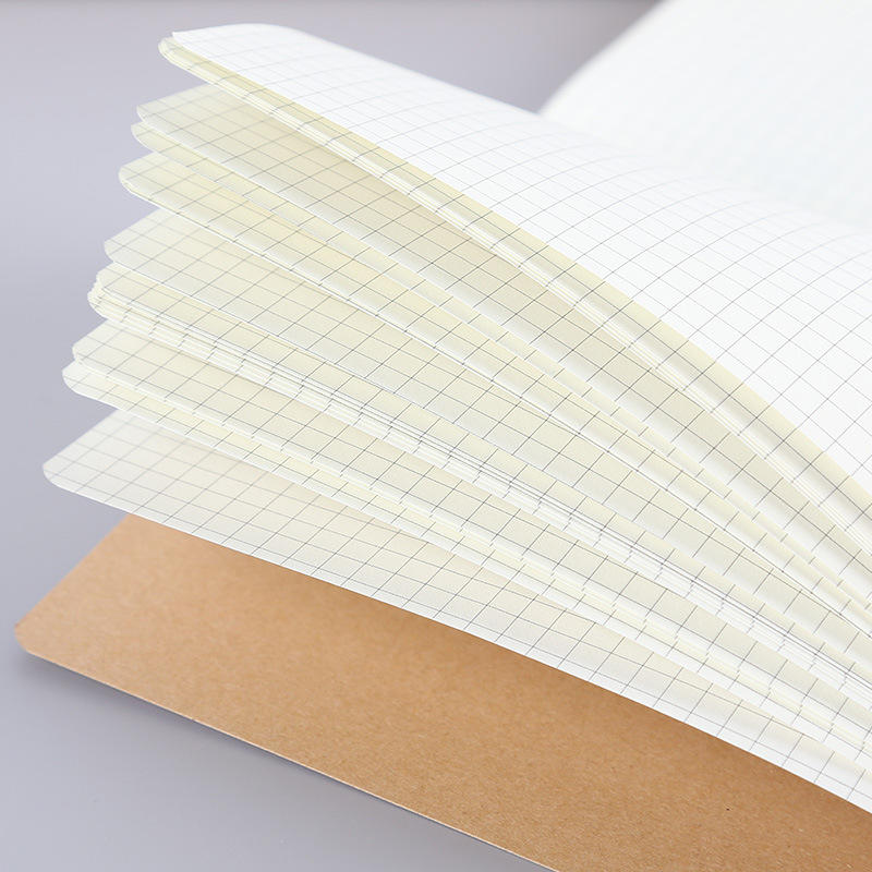 product-Dezheng-Brown 100 Recyclable Eco-Friendly Paper A5 Business Office Work Notebooks Word Book -1