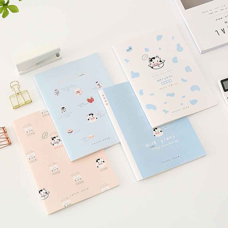 Kraft Paper Notebook Blank A6 Custom Logo Sorted Writing Sew Binding Note Book Mini Pocket Notebook