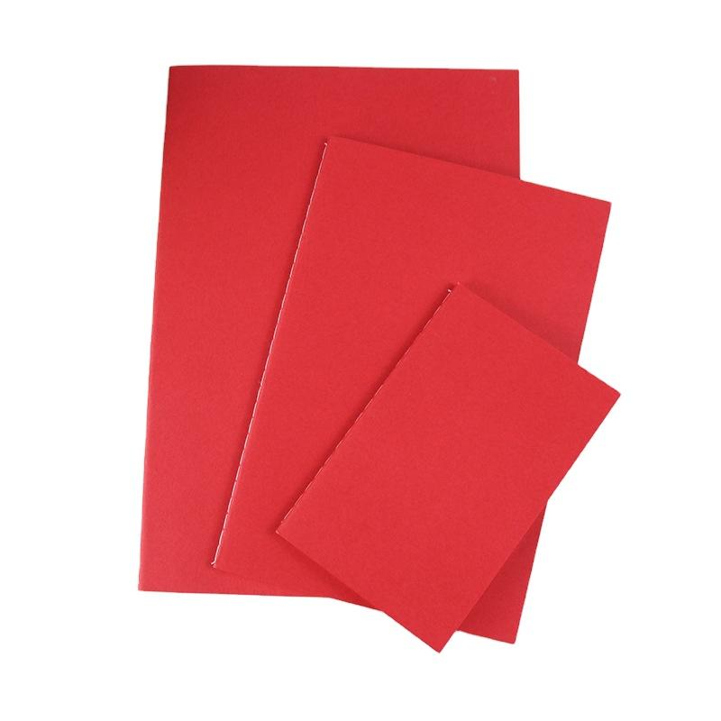 High Quality Cheap Kraft Paper Cover Notebook Recycling Of Paper Office Writing Book