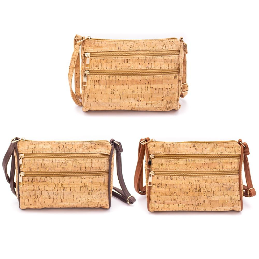 Eco-friendly Promotional Basic Cork Cross-body Bag
