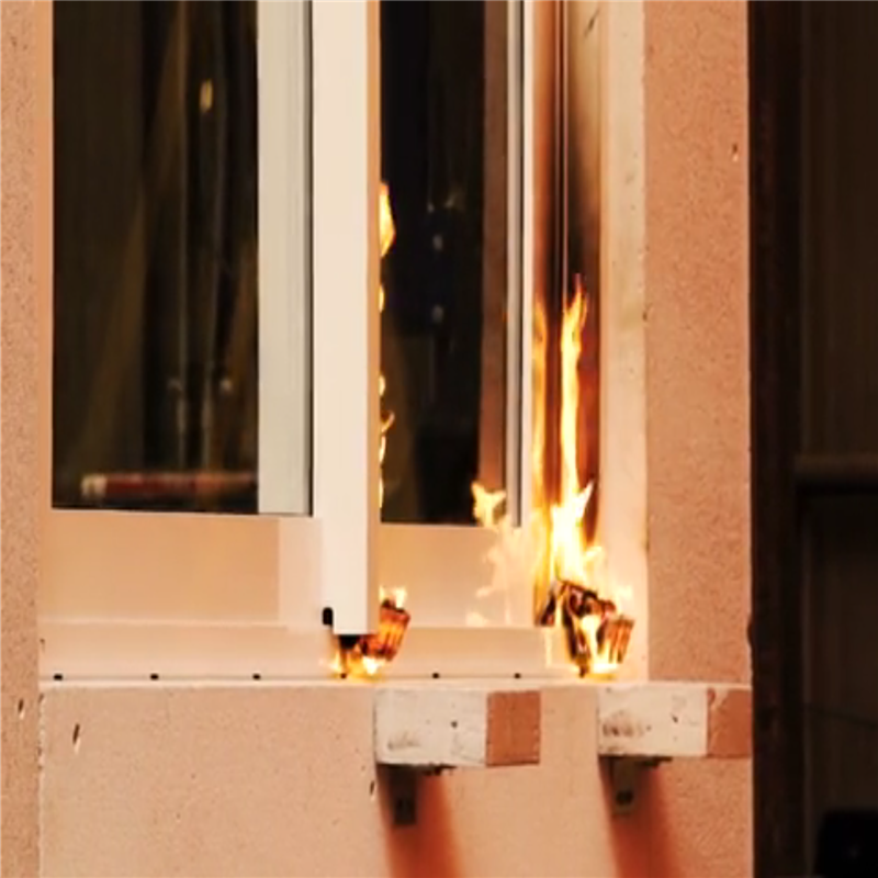 fireproof window aluminum house fire rated windows from China manufacturers