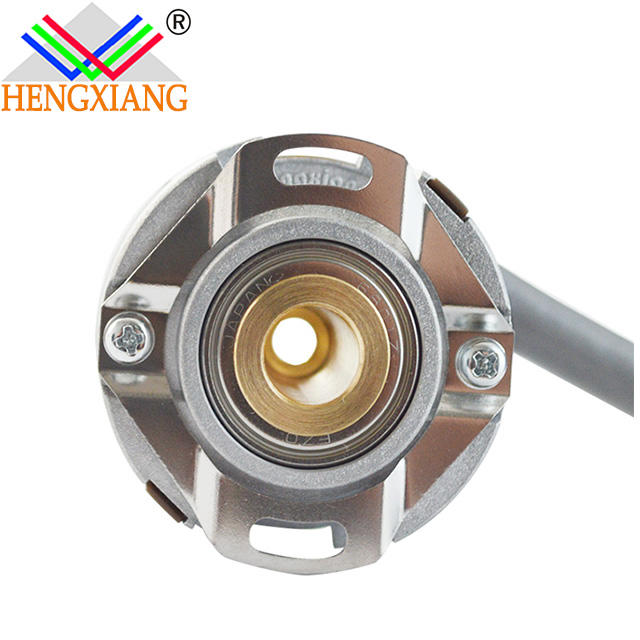 Hengxiang hollow shaft encoder KN40 distributor in India push-pull output DC8V