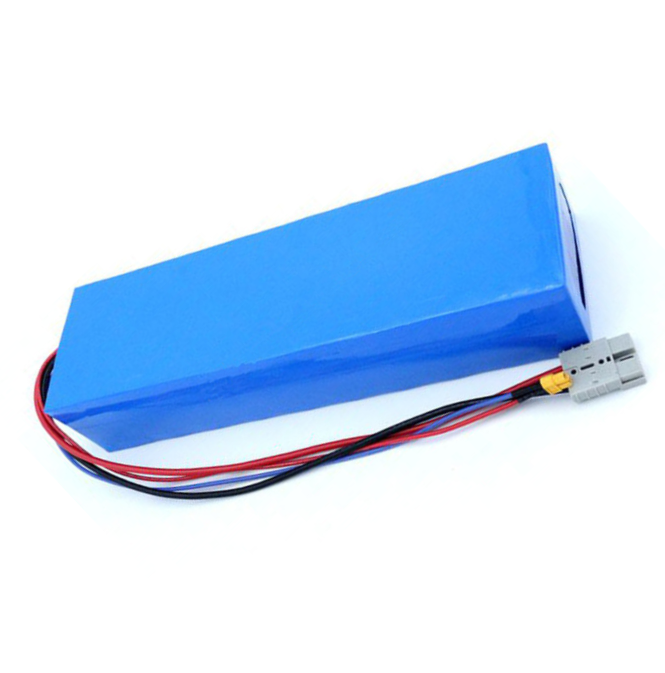 Intelligent charge system 60v 20a electric scooter battery 36v 16ah