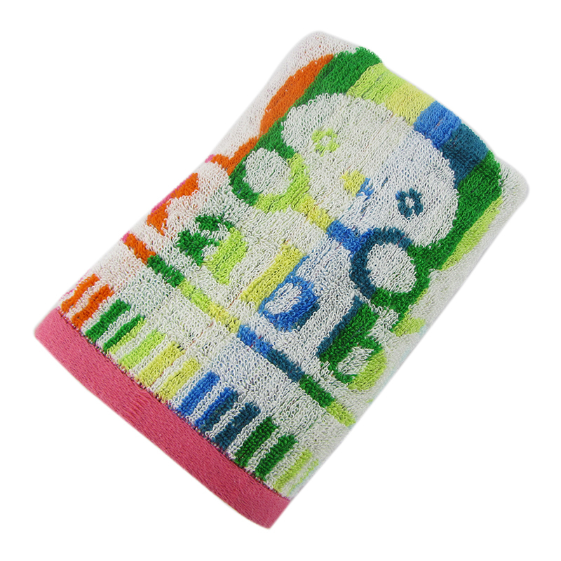 Custom double face 100% cotton jacquard towel household towel