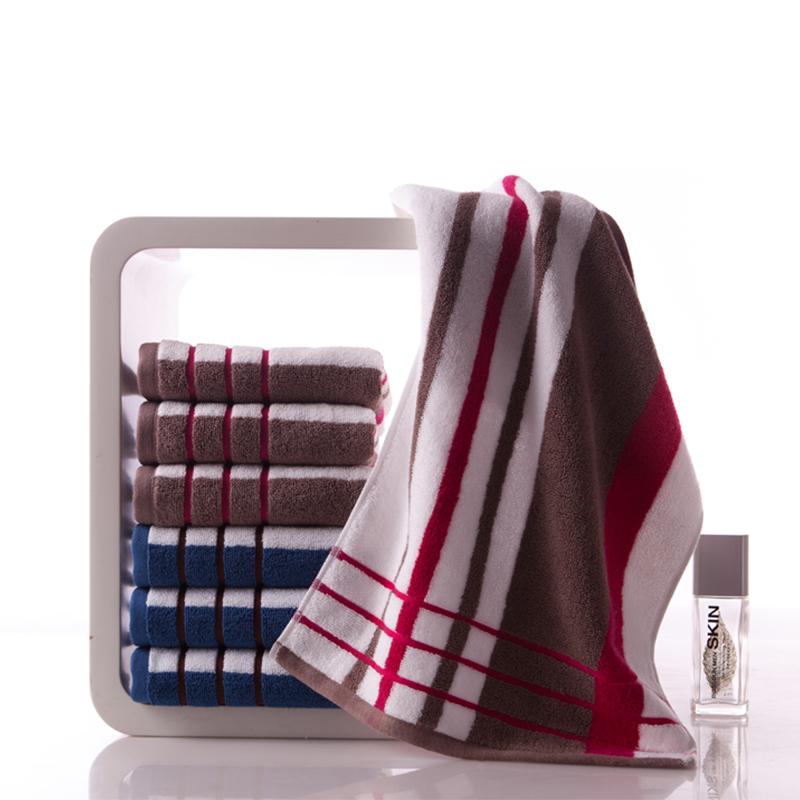 2020 hot sale jacquard terry customized logo organicface towel
