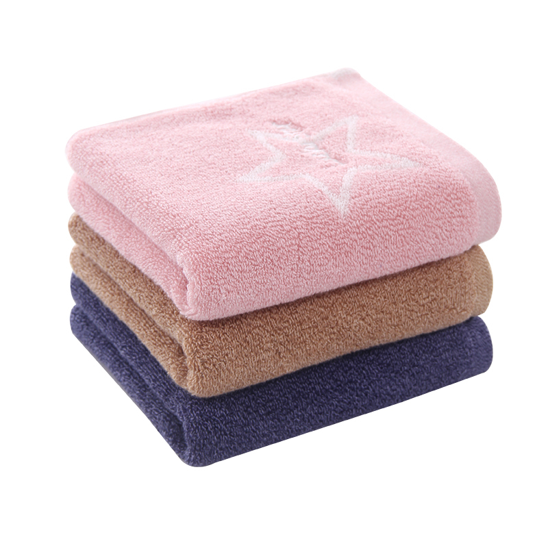 jacquard face towels customized logo