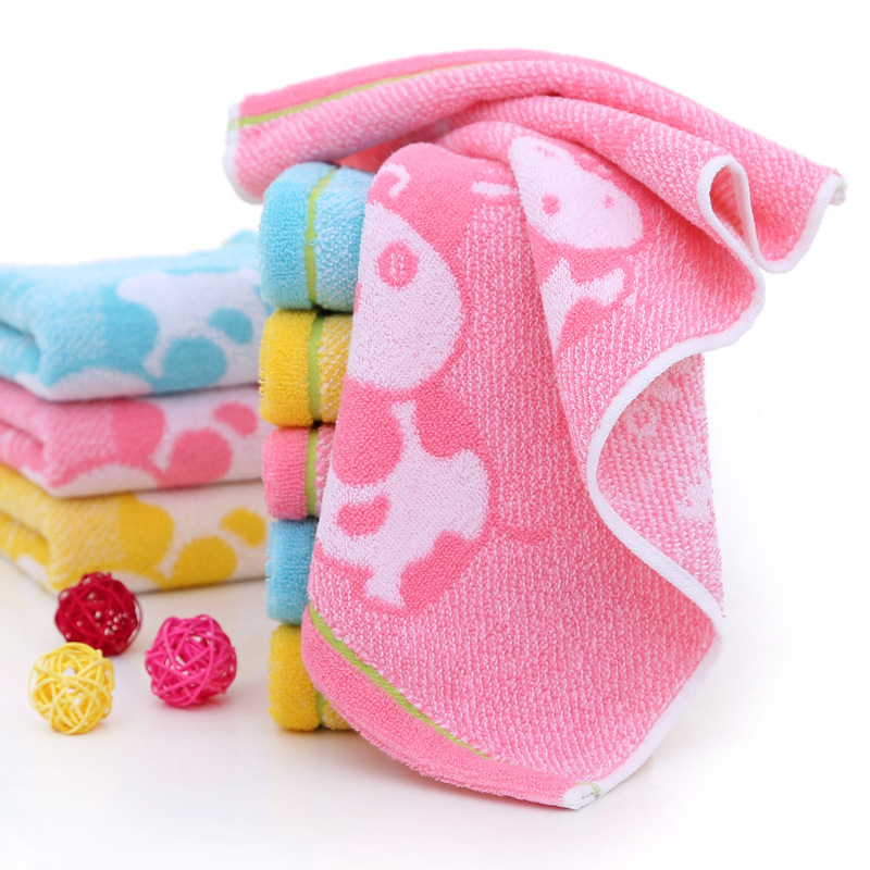 2021 jacquard terry towels customized logo