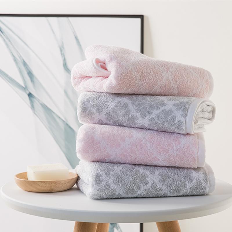 jacquard terry towels customized logo wholesale promotional