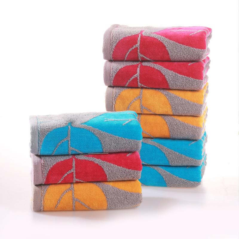 2020 hot sale jacquard terry customized logo organic baby face towel