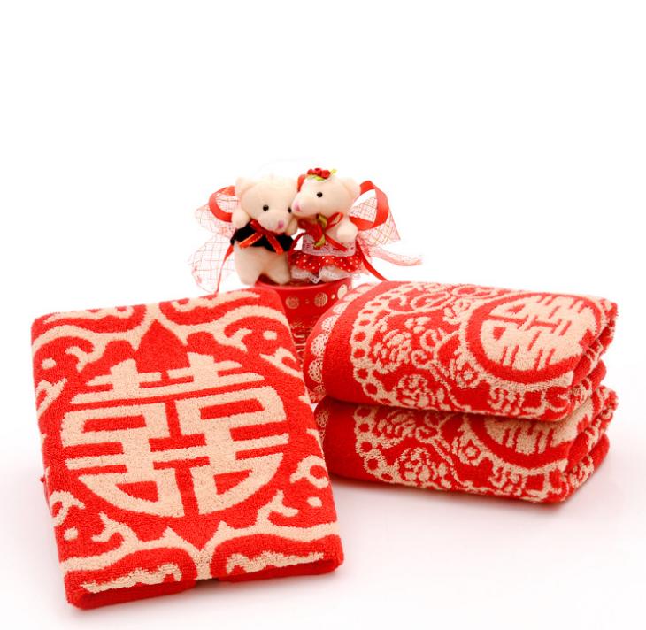 Pure cotton jacquard cheap towel face towel wedding towel